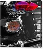 Red Tail Lights Acrylic Print