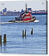 Red Tug One Acrylic Print