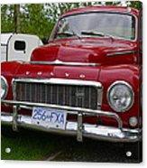 Red Volvo Acrylic Print