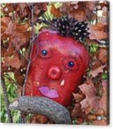 Redhead Scarecrow Acrylic Print