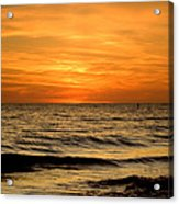 Redington Beach Sunset Acrylic Print