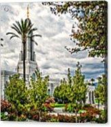 Redlands Temple Palm Acrylic Print