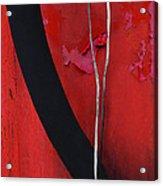 Redrum Acrylic Print by Skip Hunt