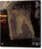 Reenactors Camp Acrylic Print