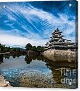 Reflected Castle Acrylic Print