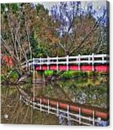 Reflecting Bridge Acrylic Print