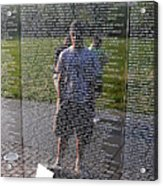 Reflection And Remembrance Acrylic Print