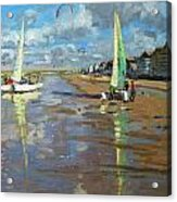 Reflection Acrylic Print by Andrew Macara