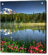 Reflection Lakes Acrylic Print