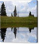 Reflection Of Lake Acrylic Print