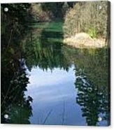 Reflection Pond Acrylic Print