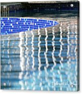Reflection Pool Acrylic Print