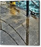 Reflections After The Rain Acrylic Print