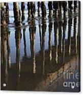 Reflections Avila Beach California Acrylic Print
