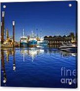 Reflections At Freemantle Acrylic Print