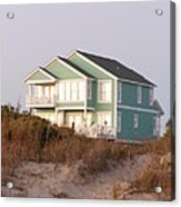 Reflections from a Beach House Acrylic Print