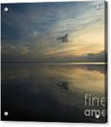 Reflections In The Sound Acrylic Print