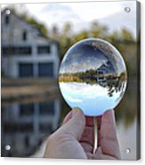 Reflections Of A Beautiful Day Acrylic Print