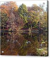 Reflections Of Autumn Acrylic Print by Rod Johnson