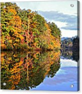 Reflections Of Autumn Acrylic Print by Susan Leggett