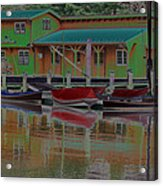 Reflections Of Color Acrylic Print