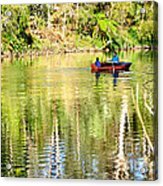 Reflections Of Fathers' Day Acrylic Print