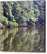 Reflections On Aldridge Lake Acrylic Print