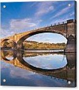Reflections On Fernbridge Acrylic Print