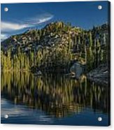 Reflections On Salmon Lake Acrylic Print