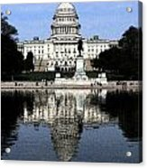 Reflective Government Acrylic Print