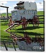 Reflective Wagon Acrylic Print
