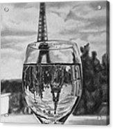 Reflexions Francaises Acrylic Print