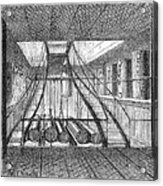 Refrigerated Ship, 1876 Acrylic Print