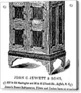 Refrigerator, 1876 Acrylic Print by Granger