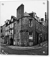 Regent Quay And Marischal Street Aberdeen Scotland Uk Acrylic Print by Joe Fox