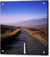 Regional Road In County Wicklow Acrylic Print