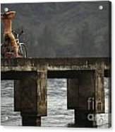 Relaxed Ride Hanalei Bay Acrylic Print