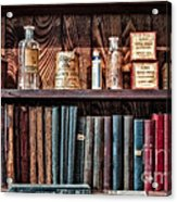 Remedies And Visiting List Acrylic Print