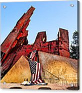 Remember September 11th Acrylic Print
