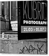 Remembering Kubrick Acrylic Print