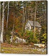 Remote Vermont Cabin Acrylic Print