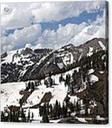 Rendezvous Mountain 2 Acrylic Print