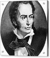Rene Laennec, French Physician Acrylic Print