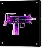 Replica Machine-gun Acrylic Print