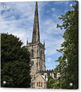 Repton Church Acrylic Print