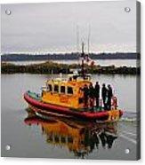 Rescue Boat Acrylic Print