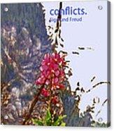 Restful Flowers Acrylic Print
