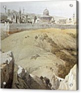 Resting Near Jerusalem Acrylic Print