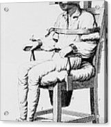 Restraining Chair 1811 Acrylic Print