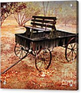 Retired Wagon 2 Acrylic Print